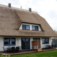 Bild Blick auf das Ferienhaus - Terassenseite