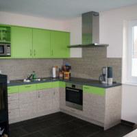 Bild Blick in die Küche