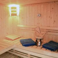 Bild Blick in die Sauna